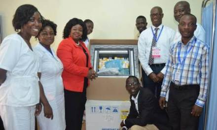Breast Care Int. partners donate chemotherapy drugs to KATH and Korle-Bu