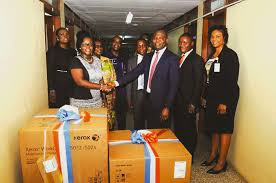 Access Bank gives to School of Languages at Legon