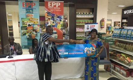 EPP Books 'Stock Your Library Campaign' provide books to five schools