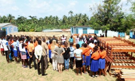 Citifm donates school furniture to Baptist Orphanage at Trotor