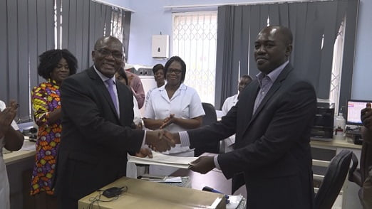 GIZ partners with Sysmex to provide medical equipment to GPHA Hospital