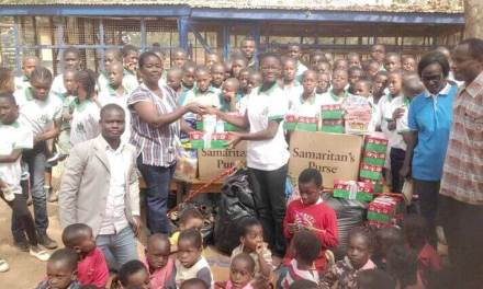 Central Lyceum donates to Tamale Children's Home