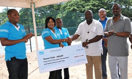 UniBank Supports KNUST Tennis Club