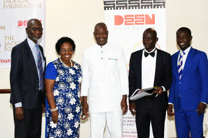 Jackson Foundation gives GHC52,500 scholarships to 15 students