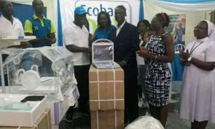 Ecobank Ghana donates GH¢600,000 equipment to health and educational institutions