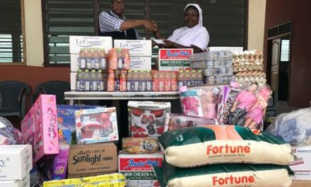 Rotary Accra Ring Rd Central supports Kressner Orphanage
