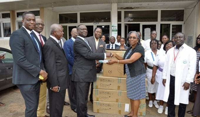Group Activa Foundation gives life-saving equipment to Korle Bu Children Unit