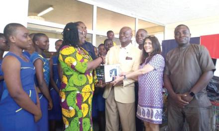 Melcom Care Foundation gives to four organisations