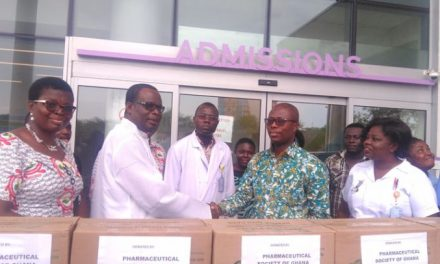 PSGH donates to victims of Atomic gas explosion