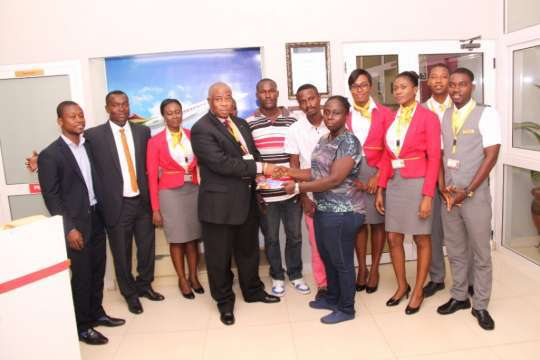 Africa World Airlines  supports Ghana Tennis