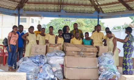 Premium Motors limited gives to Dzorwulu Special School