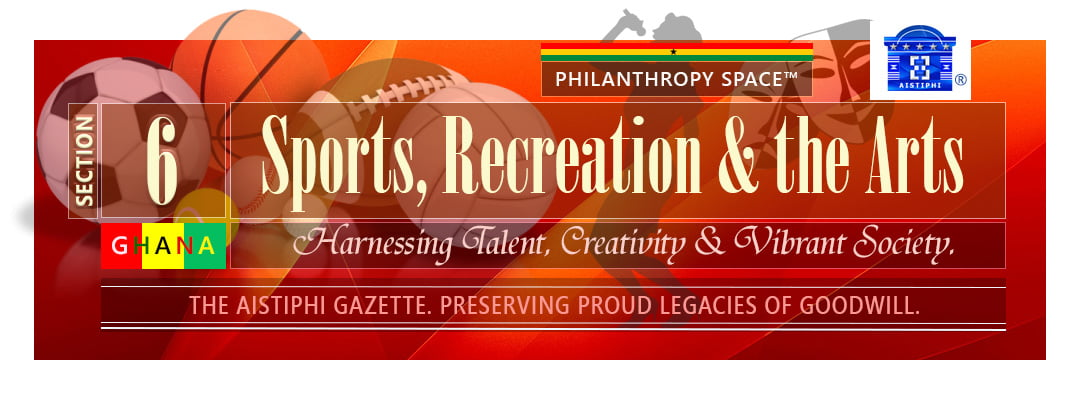 Banner for section 6 of aistiphi gazette - sports