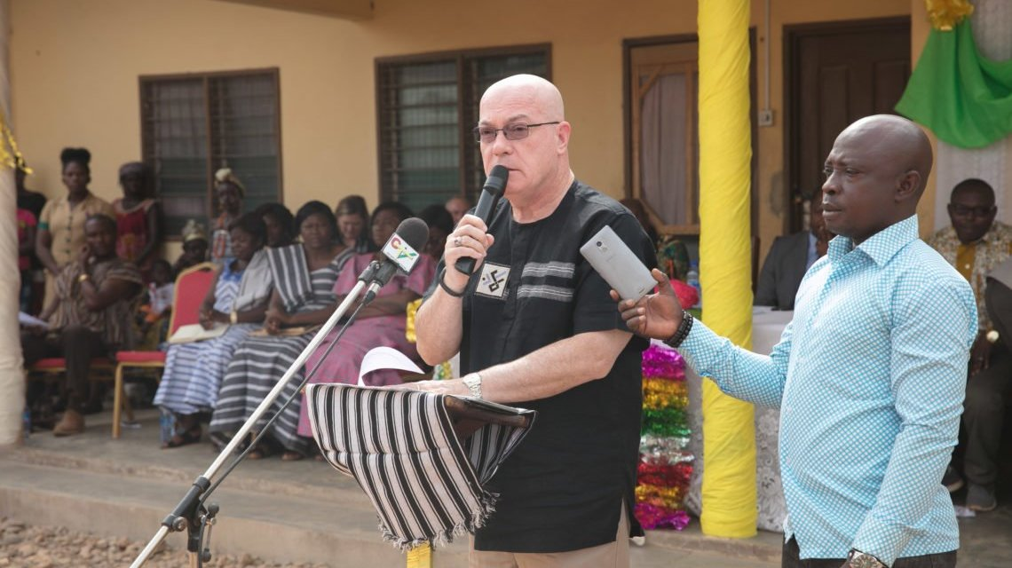 US Ambassador commissions self-help project in Guo