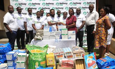Betway marks World Malaria Day, gives to Children's Hosp.