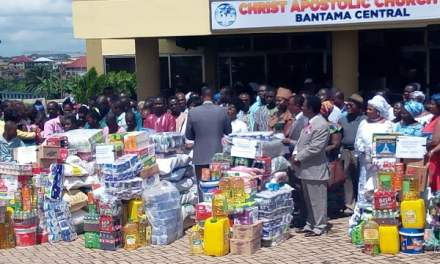 CACI-Bantama Central assists special institutions