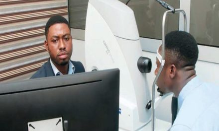 LDS gives equipment to St. Thomas Eye Hospital Accra