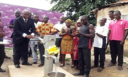 Alhaji A. Iddrisu Foundation gives 7 communities boreholes