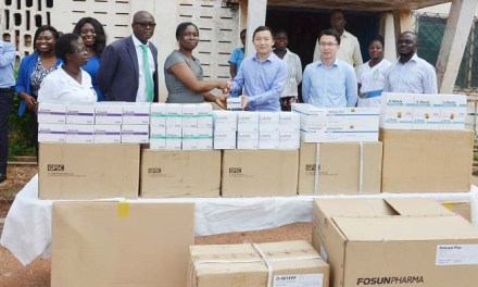 Guilin Pharma donates to Pantang Psychiatric Hospital