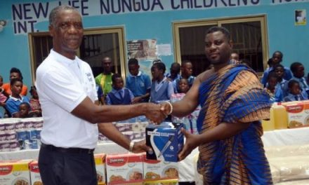 Goldstreet Business gives to New Life Orphanage