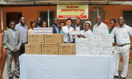 Guilin Pharma donates to Accra Psychiatric Hospital