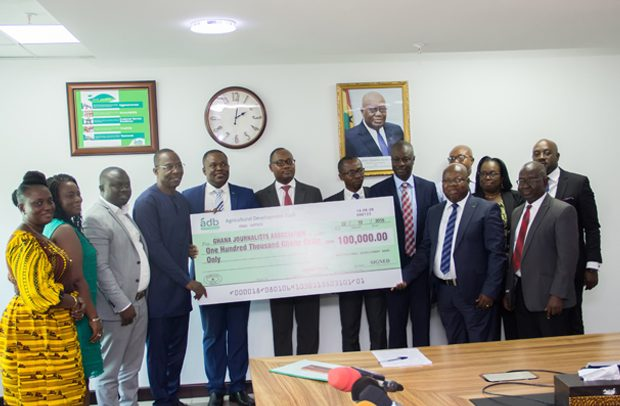ADB gives GH¢100,000 in support of 23rd GJA Awards