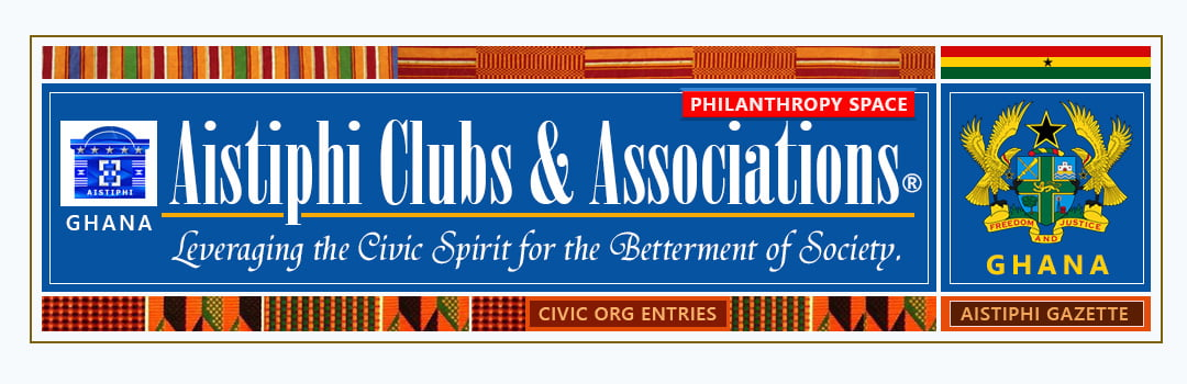 page banner for for Aistiphi clubs and societies page