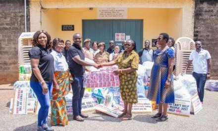 Give Me Hope give essential supplies to Nsawam Prisons