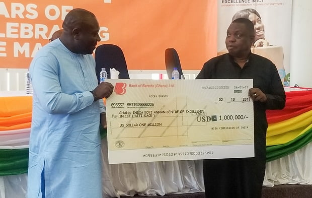 Govt of India gives $1million to support ICT training in Ghana
