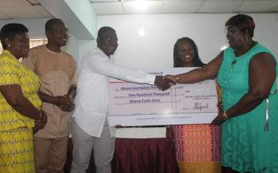 Royal Cosy Hills supports GJA Awards 2018 with GH¢100K