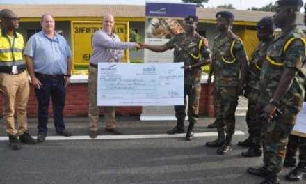 Newmont supports Infantry Battalion III garrison projects