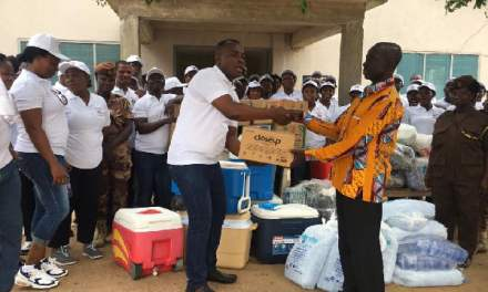 Action Chapel Achimota gives to inmates of Awutu Camp