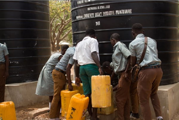 GPHA provides water facility for Pong-Tamale Senior High