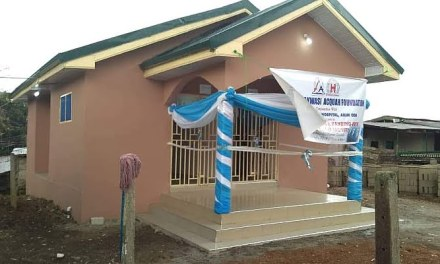 AAA Foundation commissions toilet facility for Akyem