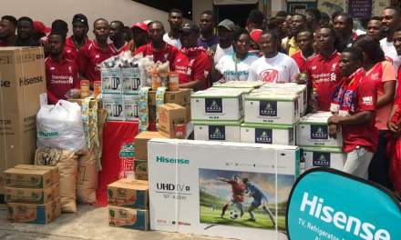 Mighty Reds Ghana mobilize support for Children's Hospital