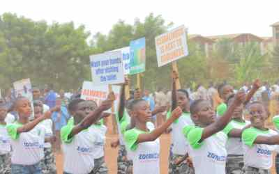 Zoomkids create awareness on sanitation and hygiene