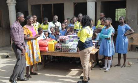AngloGold staff donate to R.U. School for the Deaf