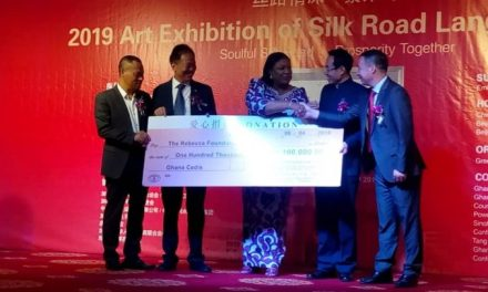 Greenhouse gives GHC100k to Rebecca Foundation