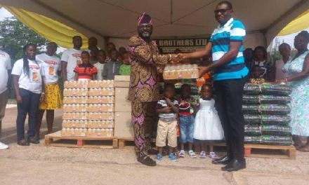 TT Brothers reaches out to Tema SOS Village at Easter