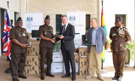 British High Commission gives to Prisons Service