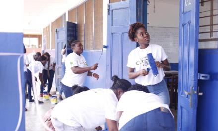 L'Oreal refurbishes Tetteh Ocloo School for the Deaf