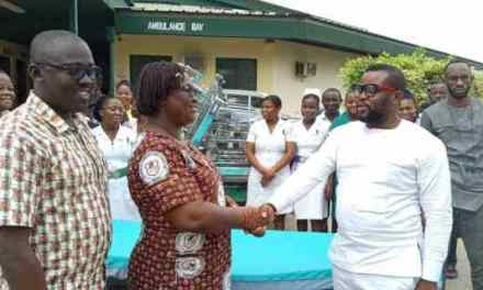 Volta Youth for Dev assists South Tongu District Hosp