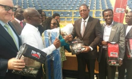 Trust Sports gives boxing equipment to GBA, others