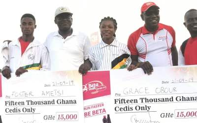 Beta Malt gives top athletes GHC30k scholarships