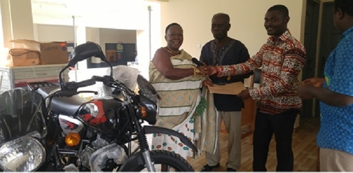 Give Hope Global donates to Pepease Health Centre