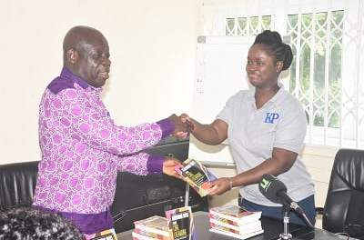 Kwadwoan Publishing gives GES 100k copies of literature supplementary