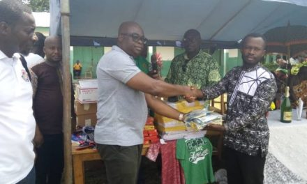 COCOBOD gives supplies to Atewase M.A. Basic School