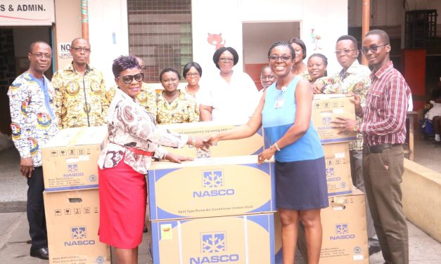 Ghana Shippers' Authority gives to Children's Hospital