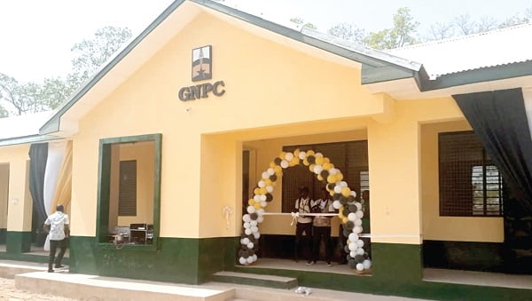 GNPC builds classroom facility for Tamale Senior High