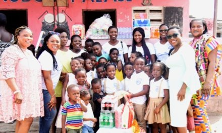The BabyNest reaches out to kids in Gbegbeyise