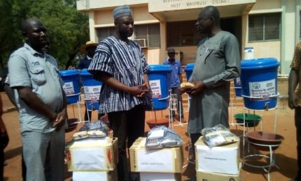 ADDRO donates PPEs to West Mamprusi Health